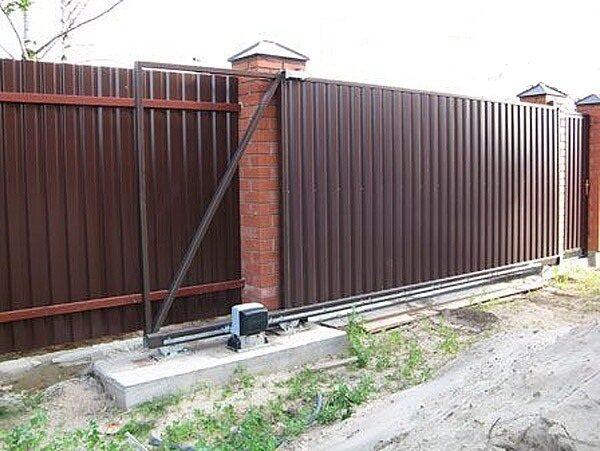 Автоматические ворота, фото 3 Симферополь SLANET